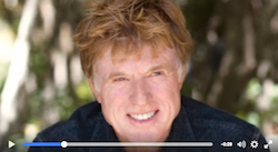 Robert Redford on mountains