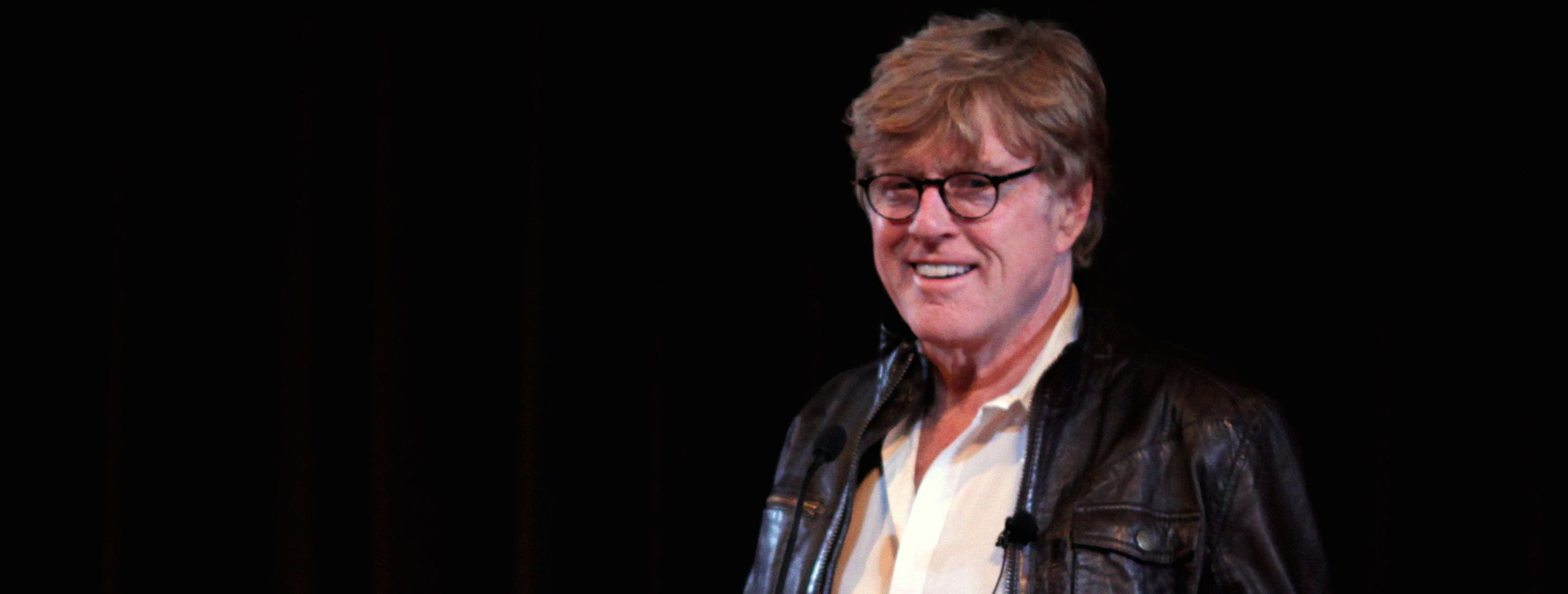 Bob Redford speaks