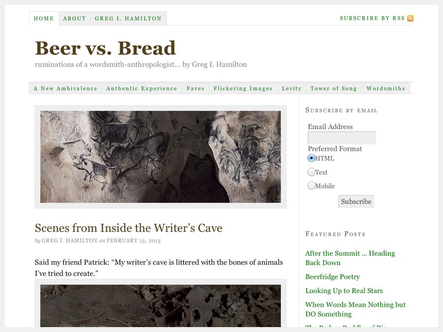 Beer vs. Bread